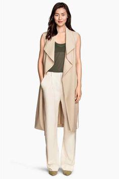 Trench-coat sans manches | H&M