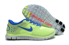 the latest 8d3bd a14d4 Womens Fluorescence Green Royal Blue Nike Free org wholesale over off Shoes  Cheap Sneakers are Cheapest for sale spring 2014