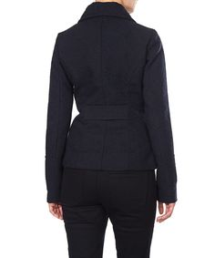 Navy double breasted jacket Sale - VERO MODA