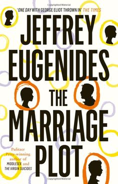 """The Marriage Plot by Jeffrey Eugenides #bookworm Interesting insight into mental illness.   """"It was possible to feel superior to other people and feel like a misfit at the same time."""" - Eugenides #bookquote"""