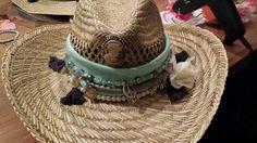 Ibiza hoed zelfgemaakt love it