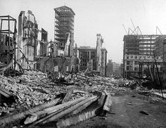 The San Francisco earthquake of 1906 was a major earthquake that struck San Francisco and the coast of Northern California at 5:12 a.m. on Wednesday, April 18, 1906.  Devastating fires broke out in the city that lasted for several days. As a result of the quake and fires, about 3,000 people died and over 80% of San Francisco was destroyed.
