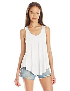 Billabong Womens Winging It Knit Tank Top Cool Whip XSmall ** Details can be found by clicking on the image.