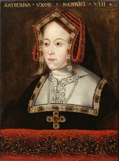 Catherine of Aragon - Blackwork on chemise.