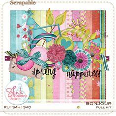 Bonjour. Kit available @ Scrapable  http://scrapable.co/store/Z-Pink-Boudoir-Designs/