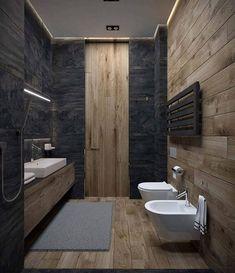 82 Best Dark bathroom images in 2019 | Bathtub, Bathroom remodeling Master Bathroom Design Dark Walls Gallery Html on