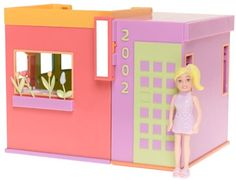 2000s polly pocket pink foldout house - Google Search