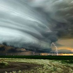 Storm Over Fillmore, Saskatchewan, Canada ~ Photograph By 🌩 Storm Pictures, Extreme Weather, Natural Wonders, Beautiful World, My Images, Mother Nature, Lightning, Clouds, Instagram Posts