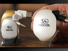 Recoil Winders - Cord storage for iPhone, iPad, iPod & More! by David Alden — Kickstarter