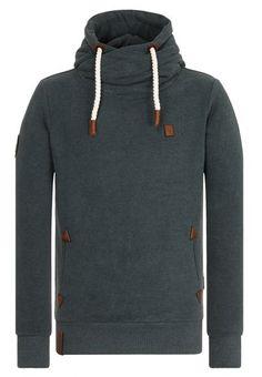 Naketano Dirty Schwanzus Longus hoodie turquoise heather