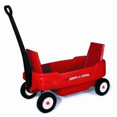 Absolutely LOVE this Radio Flyer wagon!  Seats fold up or down, 4 cup holders and seatbelts.