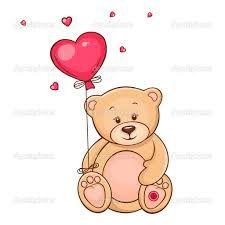 Резултат слика за teddy bear drawing