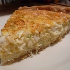 Crab Meat Pie- use g-free pie crust and g-free cracker crumbs