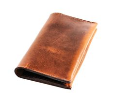 Aged Leather Iphone 5 Case and Wallet Pouch  by DivinaDenuevo, $67.00