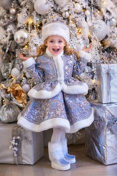 839cbdd9a02 Детские карнавальные костюмы ручной работы. Костюм Снегурочки.  SHANETKA . Ярмарка  Мастеров.