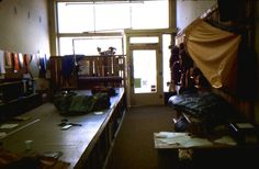1982: Original Kletterwerks Factory, Bozeman, MT