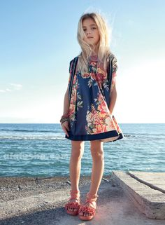 ALALOSHA: VOGUE ENFANTS: TWIN-SET by Simona Barbieri Girl Collection SS'14