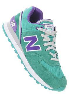 planetsports NEW BALANCE - Womens WL574 sjt green New Balance 574, New  Balance Shoes edb675ad89