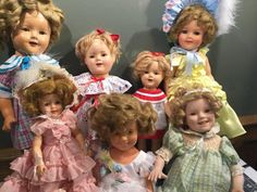 You Might Be A Doll Collector If... - Ruby Lane Blog Collector Dolls, The Collector, Doll Display, Comfortable Bras, Baby Cats, Ruby Lane, Vintage Dolls, Flower Girl Dresses, Looks Vintage