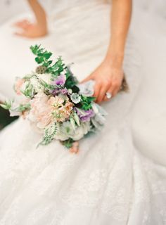 Bouquets with a variety of color and texture are such a GREAT way to add a flair of personality to your flowers!