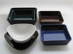 Lasikammari – Kilta, Kaj Franck, Arabia 1953 - 75 Finland, Mid-century Modern, Mid Century, Ceramics, Tableware, Glass, Bowls, Nostalgia, Childhood