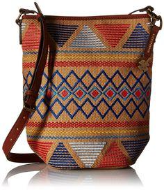 Lucky Brand Cassis Bucket Cross Body Bag, Multi, One Size: Handbags: Amazon.com