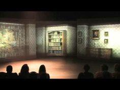 "projected scenery for the Broadway in Boulder Studios production of ""Secret Garden.""  (Directors: Angela Gaylor/David Ayers; Art Direction: David Ayers; Ast. Tech Director: Noah Kloor; Animator/Matte Paint: Andy Gerhding)"