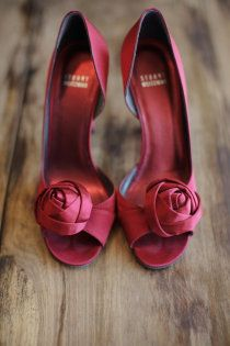 shoes for a valentine wedding