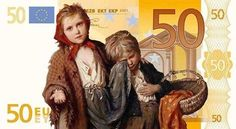 Solve Austerity_euro jigsaw puzzle online with 66 pieces Martial, Gregor, Cyprus News, Funny Times, Modern Dance, Euro, Fur Coat, Illustration, Austerity