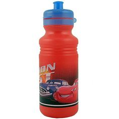 Disney Pixar Cars Team Retread Pull Top Water Bottle @ niftywarehouse.com #NiftyWarehouse #Nerd #Geek #Entertainment #TV #Products