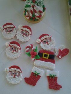 composizione di biscotti Natale Omar Busi