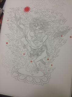Thangka Painting, Tibetan Art, Art Life, Buddhist Art, Goddesses, Coloring Books, Mandala, Photoshop, Spirit