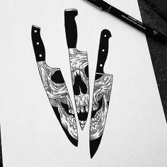Mort et couteaux