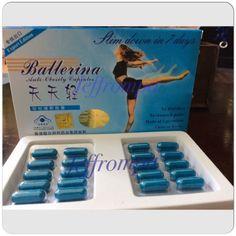 3 Box Original Ballerina Slimming Capsules Lose Weight Reduce Fat Slim Diet Fit #ad