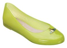 Jelly shoes all grown up. Viviene Westwood - Melissa Wanting Ballet Flats