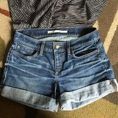 Joe's Jean shorts  Joe's Jean shorts  lovingly worn, lightly distressed denim shorts Joe's Jeans Shorts Jean Shorts