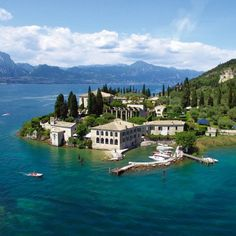Punta San Virgillo in Garda Italy. Has to be seen to be believed. Also has voracious fat sparrows and stella artois
