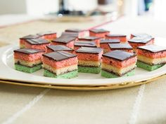 Valerie's Neapolitan Cookies : Valerie creates a three-color, layered cookie with a major wow factor.
