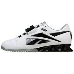 Crossfit Shoes: Reebok Women's Crossfit Lifter White-Black-Grey