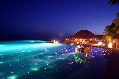 Destination wedding romance at Huvafen Fushi, Maldives