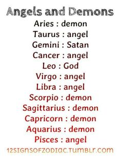 Change Zodiac Sign Cancer to Cancer Free! Zodiac signs as demons, angels, satan, or god