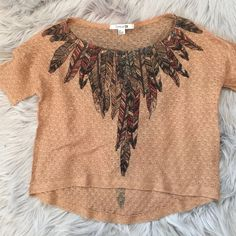 Forever 21 Top Cute crop style top!  Size small from Forever 21. Forever 21 Tops Crop Tops