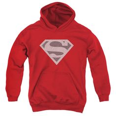 Superman: Elephant Shield Youth Hoodie