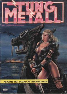 Cover for Tung metall (Epix, 1986 series) #7/1990 [49]