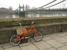 Practical town bike reviews; the Moulton TSR2