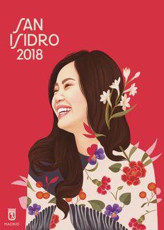 Descarga gratis los carteles de San Isidro 2018 de Mercedes deBellard 5