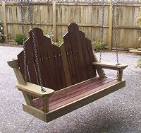 Free plans: porch swing seat project