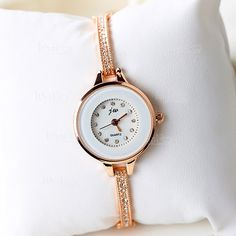 JW Marka Suya Dayanıklı Kuvars Kadın Bilezik Saat Modelleri-IGD080611969