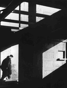 Housing unit, Marseille (Le Corbusier) by Lucien Hervé Shadow Photography, Dark Photography, Black And White Photography, Street Photography, Portrait Photography, Abstract Photography, Le Corbusier, Serge Najjar, Lucien