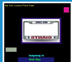 New york license plate frame 145433 - The Best Image Search